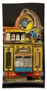 5 Cent Slot Machine Beach Towel