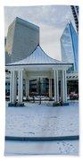 Charlotte Downtown Beach Towel