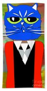 Cool Cat Beach Towel
