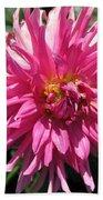Dahlia Named Pretty In Pink Beach Towel