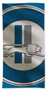 Detroit Lions Uniform Beach Towel