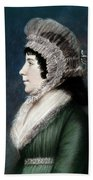 Dolley Madison (1768-1849) Beach Towel