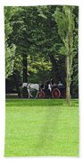 English Garden Munich Germany Beach Towel