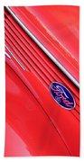 Ford Emblem Beach Towel
