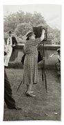 Frances Benjamin Johnston (1864-1952) Beach Towel
