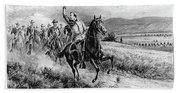 George Armstrong Custer (1839-1876) Beach Towel