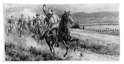 George Armstrong Custer (1839-1876) Beach Sheet