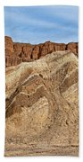 Golden Canyon Death Valley National Park Beach Towel