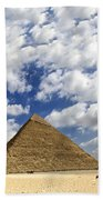 Great Pyramid Of Egypt Beach Towel