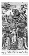 Henry V (1387-1422) Beach Towel