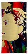 Hillary Clinton Gold Series Beach Towel by Marvin Blaine