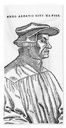 Huldreich Zwingli (1484-1531) Beach Towel