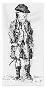 John Wilkes (1727-1797) Beach Towel