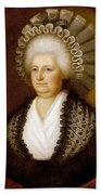 Martha Washington (1731-1802) Beach Towel