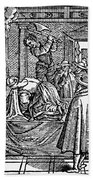 Mary, Queen Of Scots (1542-1587) Beach Sheet
