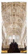 Mezquita Cathedral Interior In Cordoba Beach Towel