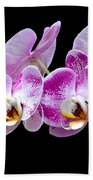 Moon's Orchid  Beach Towel
