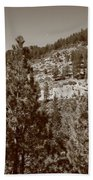Mountainside Near Lake Tahoe Beach Towel