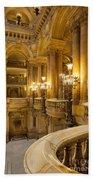 Palais Garnier Interior Beach Towel