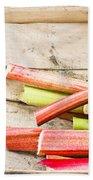 Rhubarb Beach Towel