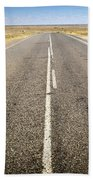 Road Ahead Beach Towel