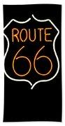 Route 66 Edited Beach Towel