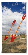 Route 66 - Twin Arrows Trading Post Beach Towel
