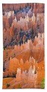 Sandstone Hoodoos In Bryce Canyon  Beach Towel