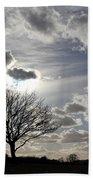 Dramatic Sky Beach Towel