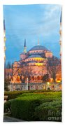 The Blue Mosque - Istanbul Beach Towel