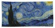 The Starry Night Beach Towel