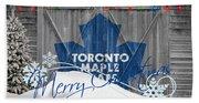 Toronto Maple Leafs Beach Sheet