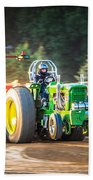 Tractor Pull Beach Towel
