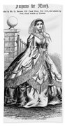 Women's Fashion, 1860 Beach Towel