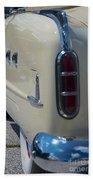 52 Packard Convertible Tail Beach Towel
