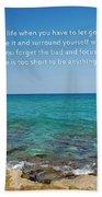 53- Be Happy Beach Towel