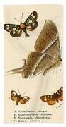 Butterflies Beach Towel