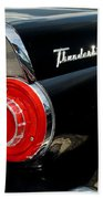 56 Ford Thunderbird Beach Towel