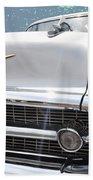 57 Bel Air Hood Rockets Beach Towel