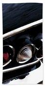 '58 Chevy Impala Fin Beach Towel