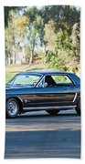 1965 Shelby Prototype Ford Mustang Beach Towel