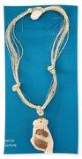 Aphrodite Anadyomene Necklace Beach Towel by Augusta Stylianou