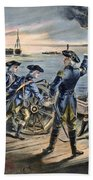 Battle Of Long Island, 1776 Beach Towel