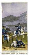Battle Of Monterrey, 1846 Beach Towel