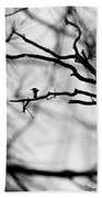Bird In Tree Beach Towel
