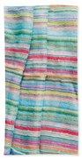 Colorful Cloth Beach Towel by Tom Gowanlock