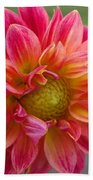 Dahlia Named Brian's Sun Beach Towel