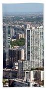Downtown Austin Texas  Beach Towel