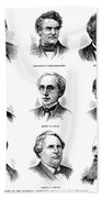 Electoral Commission, 1877 Beach Towel