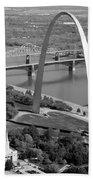 Gateway Arch Saint Louis Mo Beach Towel
